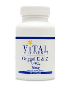 Guggul E & Z Extract 99% 75 mg 60 caps by Vital Nutrients