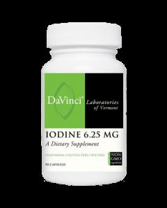 Iodine 6.25 mg 90 caps Davinci Labs