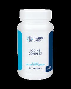 Iodine Complex 6.25mg 90 caps Klaire Labs
