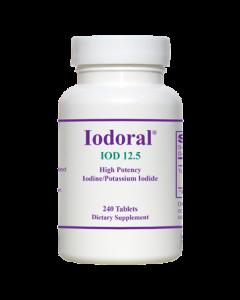 Iodoral 12.5 mg 240 tabs Optimox
