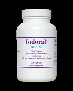 Iodoral IOD-50 120 tabs Optimox