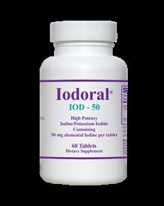 Iodoral IOD-50 60 tabs Optimox