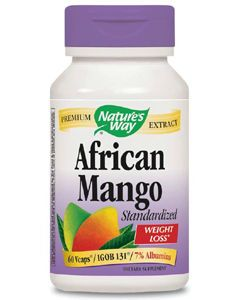 African Mango 60 vcaps Nature's Way