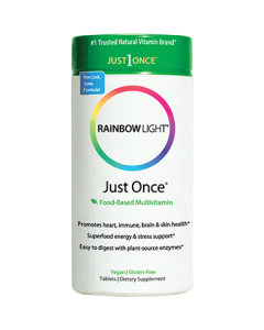 Just Once Multivitamin 120 tabs by Rainbow Light Nutrition