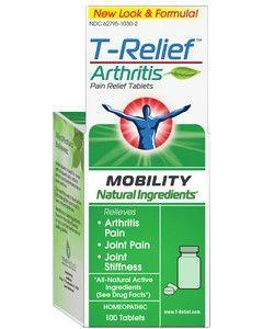 T-Relief Arthritis 100 tabs (formerly Zeel) by MediNatura