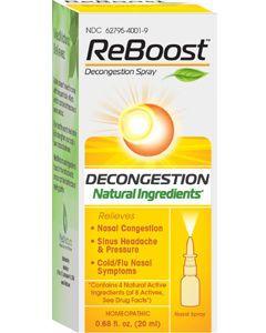 ReBoost Decongestion Nasal Spray 20 ml (formerly Sinusin) by MediNatura