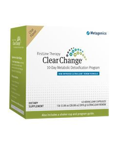 Clear Change 10 Day with UltraClear RENEW Chai Metagenics