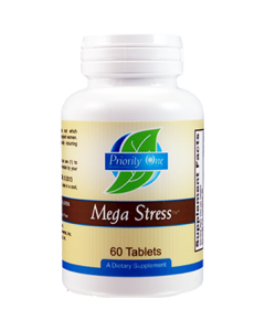 Mega Stress 60 tabs by Priority One