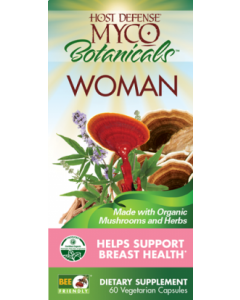 MycoBotanicals - Woman 60vcaps by Host Defense