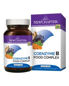 Coenzyme B Food Complex 90 vtabs New Chapter