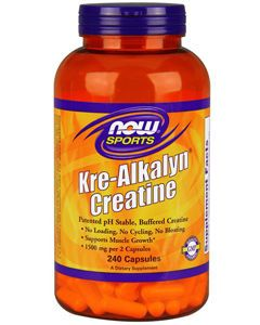 Kre-Alkalyn Creatine 240 caps by NOW Sports