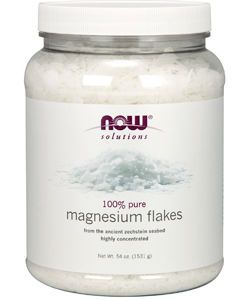 Magnesium Flakes 54 oz by NOW Foods