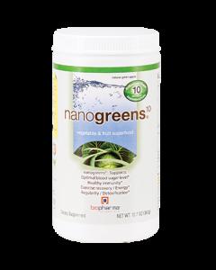 NanoGreens 10 Green Apple 12.7 oz by BioPharma Scientific