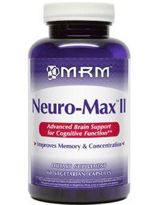 Neuro Max II 60 caps by MRM