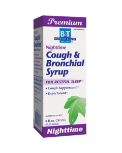 Nighttime Cough & Bronchial Syrup  8 oz Boericke & Tafel