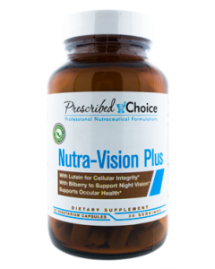 Nutra-Vision+ w. Lutein & Bilberry 60vcaps by Prescribed Choice