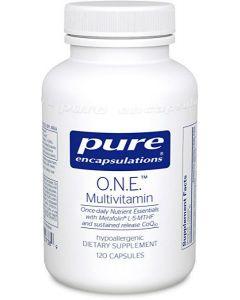 ONE Multivitamin 120 Pure Encapsulations