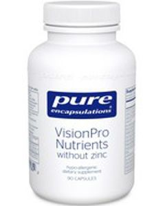 VisionPro Nutrients w/o zinc 90 Pure Encapsulations