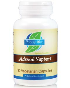 Adrenal Support 90 vcaps by Priority One