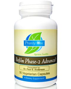 Biofilm Phase-2 Advanced 30 vcaps Priority One