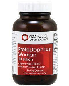 ProtoDophilus Woman 20 Billion 50 vcaps by Protocol For Life Balance