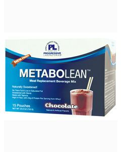 MetaboLean Chocolate 15 Pouches by Progressive Labs
