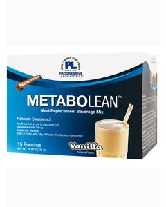 MetaboLean Vanilla 15 Pouches by Progressive Labs
