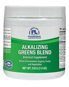 Alkalizing Greens Blend 210g (7.4 oz) Progressive Labs