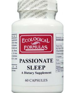 Passionate Sleep 60 caps Ecological Formulas / Cardiovascular Research