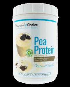 Pea Protein Vanilla 26.5oz by Prescribed Choice