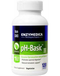 pH-Basic 120 caps by Enzymedica