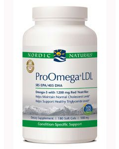 Pro Omega LDL 1000 mg 180 gels by Nordic Naturals