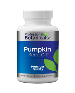 Pumpkin Seed Oil 60 sgels Professional Botanicals