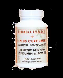 R-Plus Curcumin 120 vcaps GeroNova Research