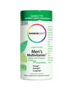 Men's Multi 120 vcaps by Rainbow Light Nutrition