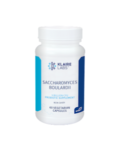 Saccharomyces Boulardii 60 vegcaps Klaire Labs