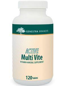Active Multi Vite 120 tabs Genestra / Seroyal