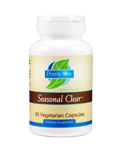 Seasonal Clear (Allergy Plus) 90 vcaps Priority One