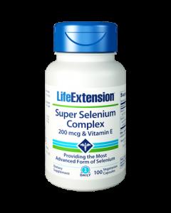 Super Selenium Complex Vitamin E 100 vcaps Life Extension