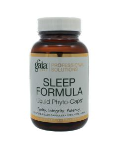 Sleep Formula 60 lvcaps Gaia Herbs