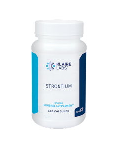 Strontium 100 caps (formerly ProThera) Klaire Labs