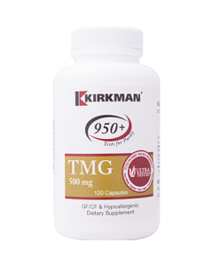 TMG 500 mg 120 caps Kirkman Labs