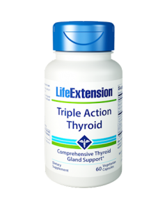 Triple Action Thyroid 60 vcaps Life Extension