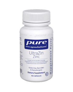 UltraZin Zinc 90 vcaps Pure Encapsulations