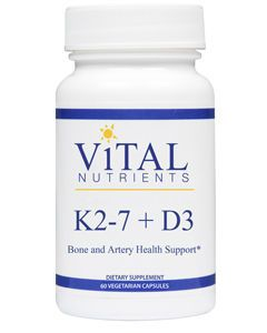 K2-7 + D3 60 vcaps by Vital Nutrients