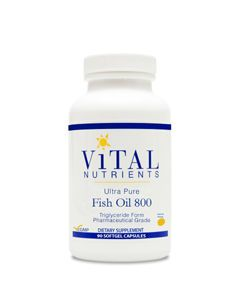 Ultra Pure Fish Oil 800 90 gels by Vital Nutrients