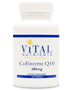 CoEnzyme Q10 300mg 30 caps by Vital Nutrients