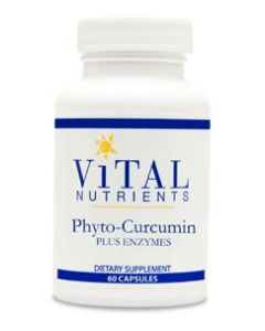 Phyto-Curcumin Plus Enzymes 60 caps by Vital Nutrients