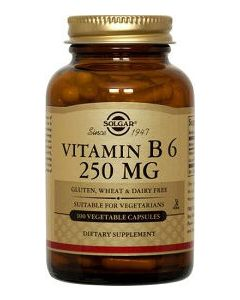 Vitamin B6 Formula 250mg 100 veg caps by Solgar