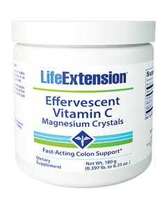 Vitamin C- Magnesium Crystals 180g by Life Extension